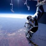 skok z kosmosu